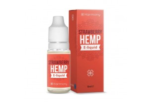 CBD e-liquid Strawberry Hemp Harmony